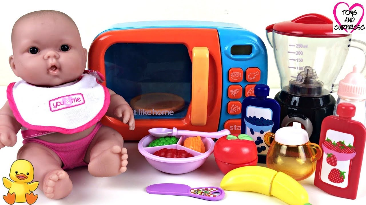 Baby doll cooking lunch kitchen playset 💖
