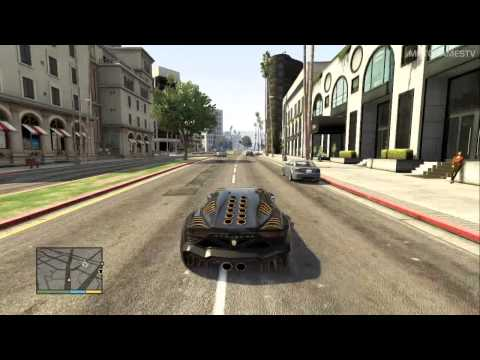 GTA V PS3 - The High Life Update - Pegassi Zentorno Gameplay