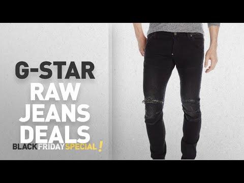 a0e266c876d Top Black Friday G-Star Raw Jeans: G-Star Raw Men's 5620 3d Zip Knee Super  Slim Dk, Dark Aged, 33 x - YouTube