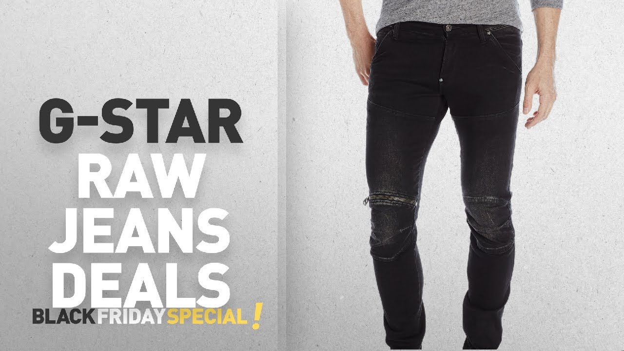 cde6877a202 Top Black Friday G-Star Raw Jeans: G-Star Raw Men's 5620 3d Zip Knee ...