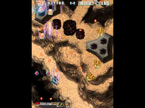 [MAME] Wyvern Wings (c)2001 Semicom - MARP 1CC Replay : Player WEDNESDAY