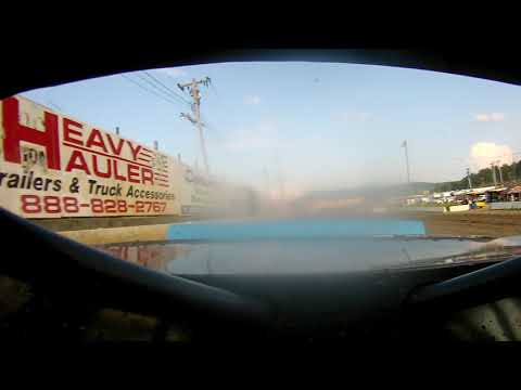7-27-19 Lebanon Valley Speedway Purestock Feature WIN rear view cam