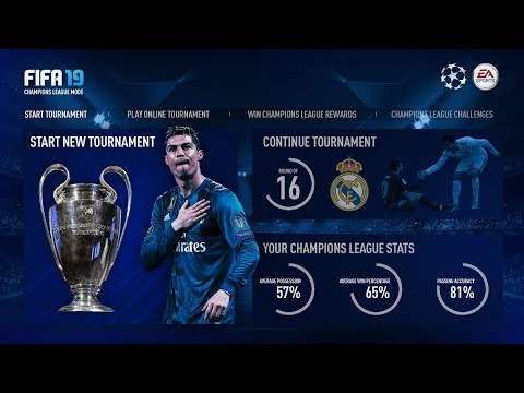 DE UEFA CHAMPIONS LEAGUE KOMT IN FIFA 19!!