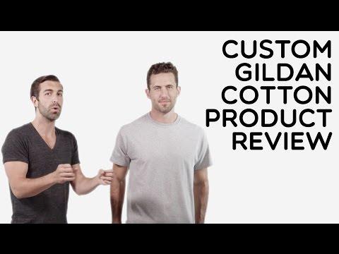 Custom Gildan 100% Cotton T-Shirt Product Review