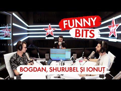 Funny Bits - Bogdan, Shurubel şi Ionuţ (LIVE @VIRGIN RADIO ROMANIA)