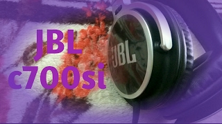JBL c700si unboxing and review (English)