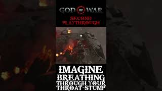 Imagine Breathing Through Your Throat-stump! - God Of War #Shorts
