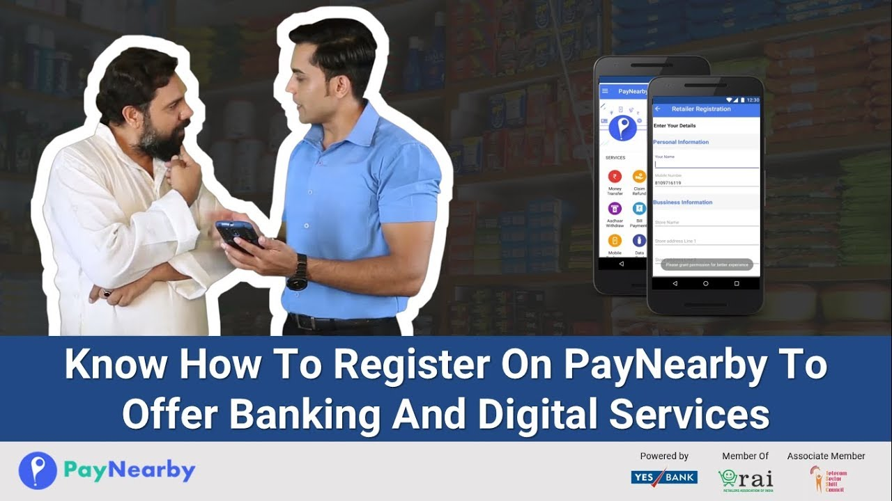 PayNearby Bharat QR Merchant: How to Register on Retailer App?