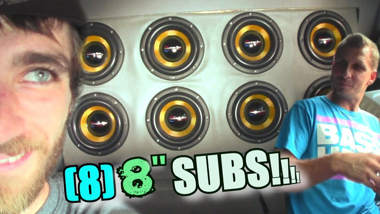 8 Subs CAN PLAY LOW BASS!? Jays American Bass VFL