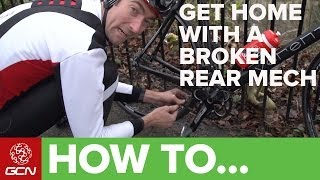 Broken Rear Derailleur? H๐w To Make A Singlespeed And Ride Home