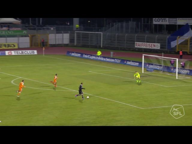 Armando Sadiku - First goal for Lugano vs Grasshopper