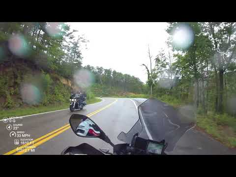 (4K) BMW R1200GSA - Two Up on the Tail of the Dragon