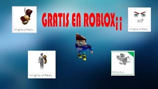 HOW TO HAVE ALL THIS FREE IN ROBLOX¡ 2019¡