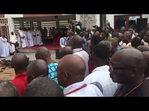 Oba of Benin, Ewuare II, places a curse on prostitution, human trafficking and those promoting it.