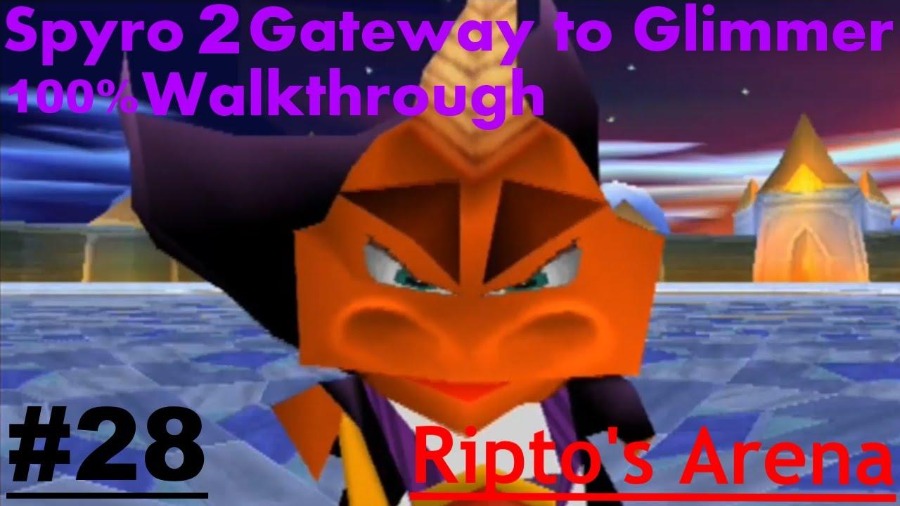Spyro 2 glimmer walkthrough