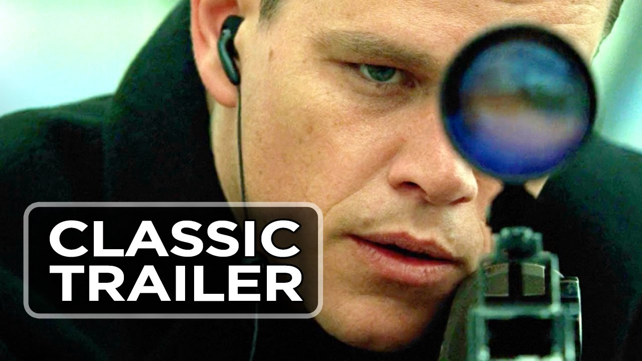4c0fb6c47 The Bourne Supremacy Official Trailer #1 - Brian Cox Movie (2004) HD