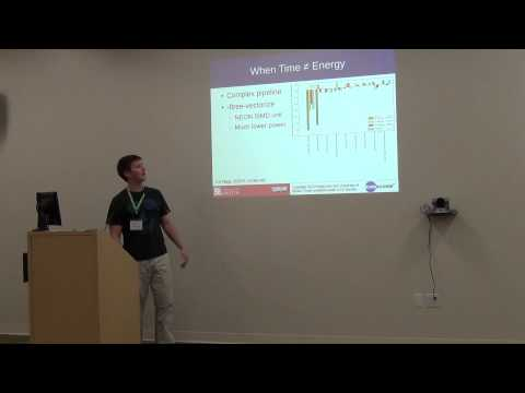 Cauldron 2013 - Impact of Different Compiler Options on Energy Consumption