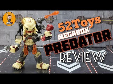 52Toys MEGABOX MB-11 Predator review By Kato's Kollection
