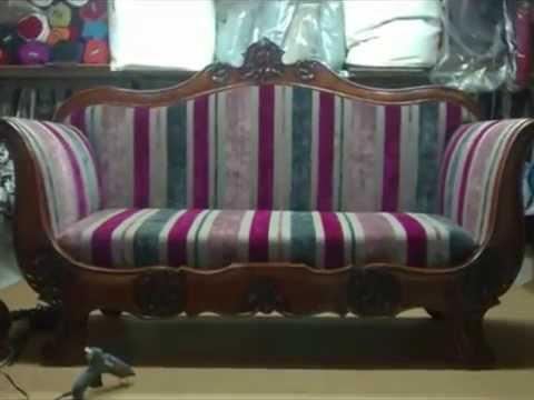 Come rigenerare un divano antico  YouTube