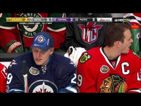 NHL 2017 All-Stars Skills Competition: Hardest Shot