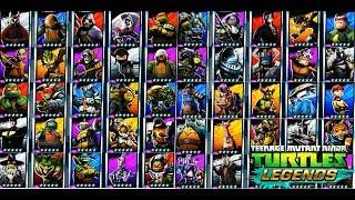 - Все персонажи Черепашки ниндзя Легенды 210 Начало Турнира бой всех герои TMNT Legends