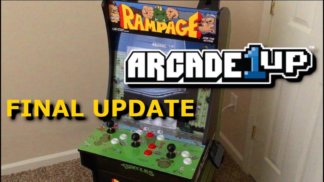 Rampage Arcade1up Mod: Final Update