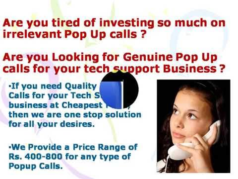 Email/Popup Calls for tech support at low price 7503020504