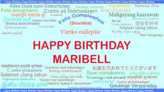Maribell   Languages Idiomas - Happy Birthday