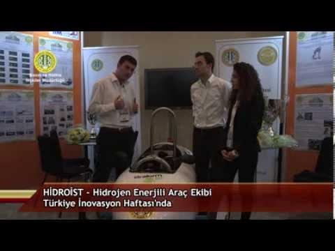 Hidroist - Hidrojen Enerjili Araç Ekibi Türkiye İnovasyon Haftası'nda