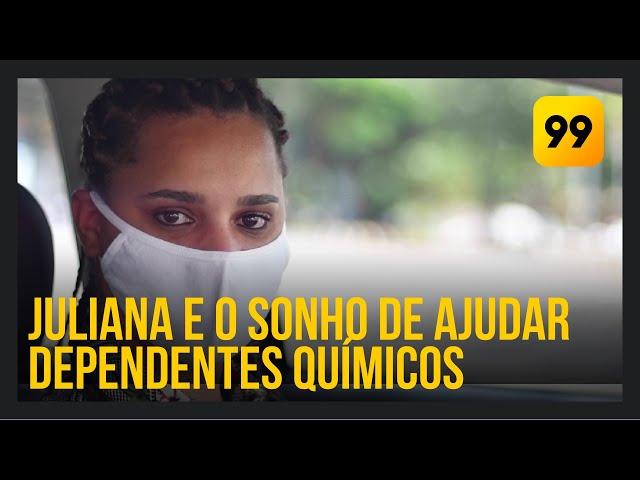 Juliana: apoio aos dependentes na luta contra o vício   #NoCorre99