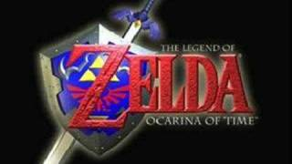 the legend of zelda ocarina of time-lost woods song