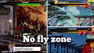 Daily Samurai Shodown Highlights: No fly zone