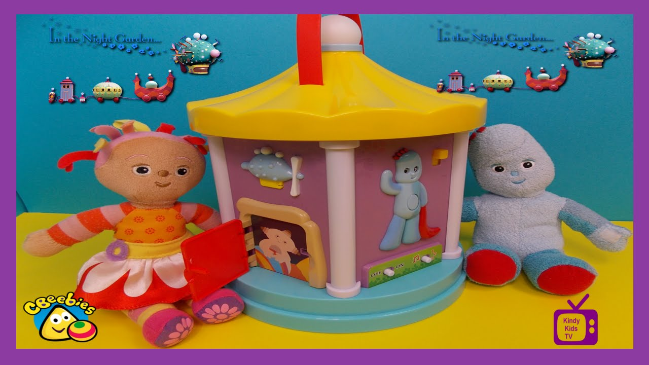 In The Night Garden Toys New Musical Carousel With Igglepiggle Upsy Daisy M P And More
