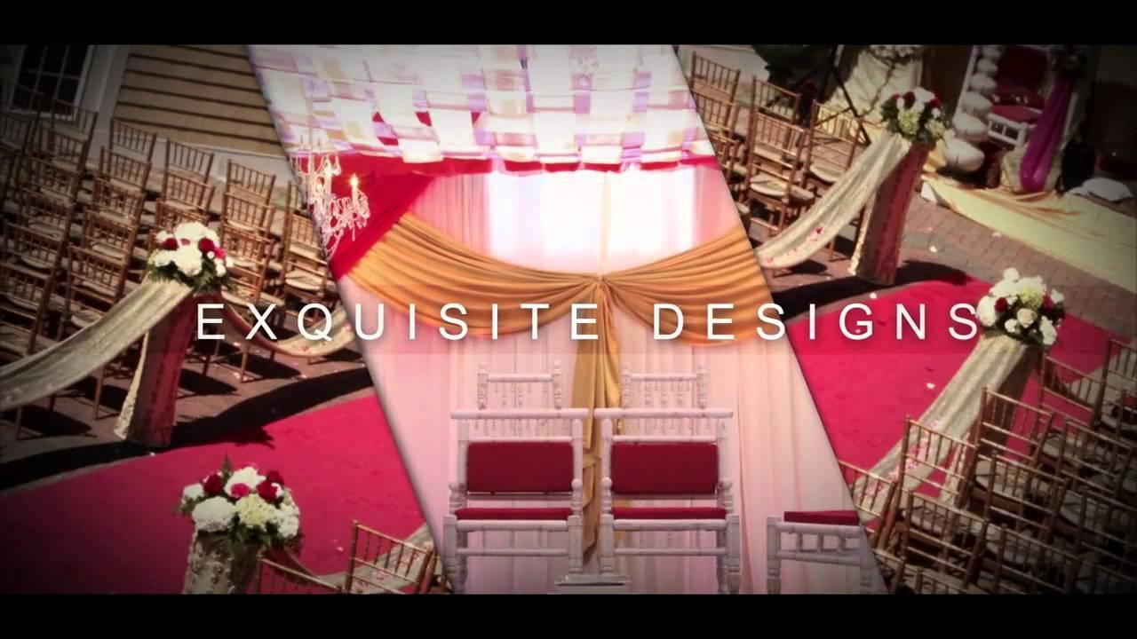 Indian Wedding Decorator Nj Fern N Decor Youtube