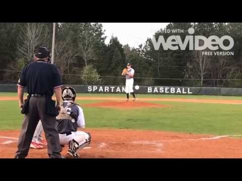 Wyatt England RHP 2020 prospect Athens Academy HS