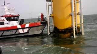 MPI Dulcinea transfers technicians off D4 at Sheringham Shoal Offshore Wind Farm