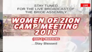 WOMEN CAMP 2018 DAY 2 MORNING (13.11.2018) LIVE BROADCAST