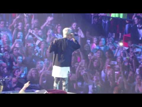 Justin Bieber: Purpose Tour 7-3-16 American Airlines Arena
