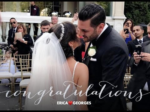 GEORGE AND ERICA'S WEDDING. AUGUST 26, 2017. WESTMOUNT COUNTRY CLUB. NEW JERSEY