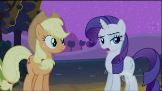 Rarity - Applejack, why do you have to be so good and make me look so bad?