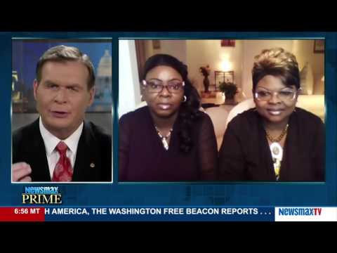 Newsmax Prime | Diamond & Silk react to the news that Trump supporters have been spat on and abused