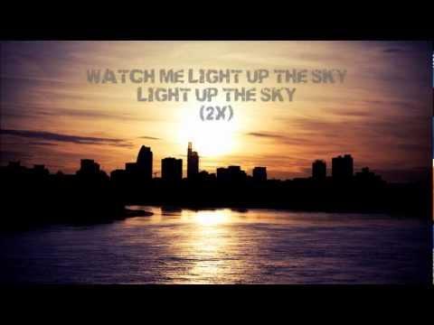 """Light Up the Sky (Solomon Olds Remix)"" by Thousand Foot Krutch (Lyrics on Screen)"