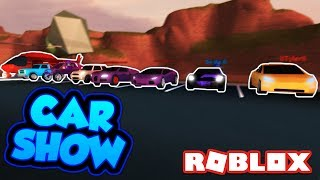 EXPENSIVE ROBLOX CAR SHOW!