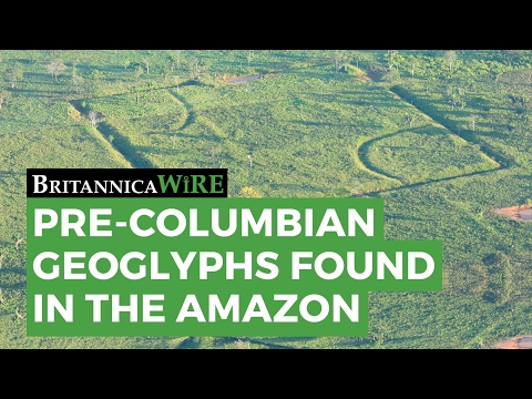 Pre-Columbian Geoglyphs Found in the Amazon