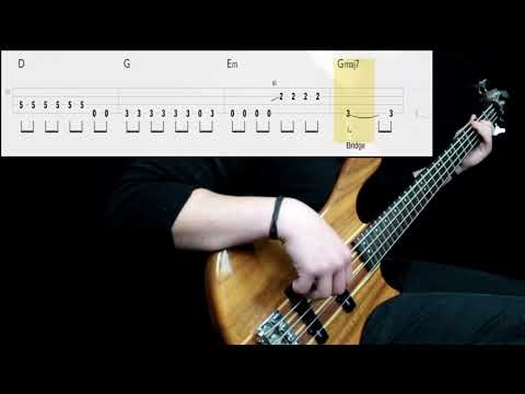 Audioslave - Be Yourself (Bass Cover) (Play Along Tabs In Video)