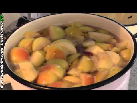 Как варить компот из винограда и яблок в кастрюле