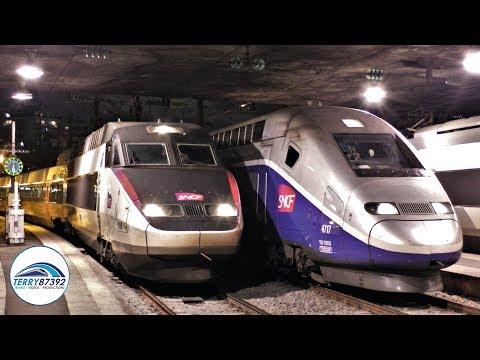 TGV, ICE et autres trains en gare de Paris-Est - 24 Novembre 2017