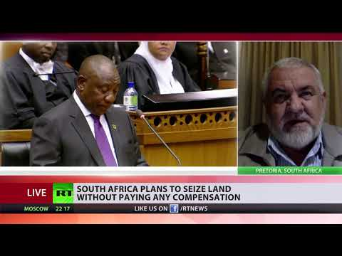 South Africa to expropriate land from whites without compensation