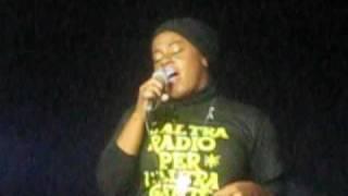 Etana - Jah Chariot - Live @ Rivolta PVC, Marghera 6-11-2010