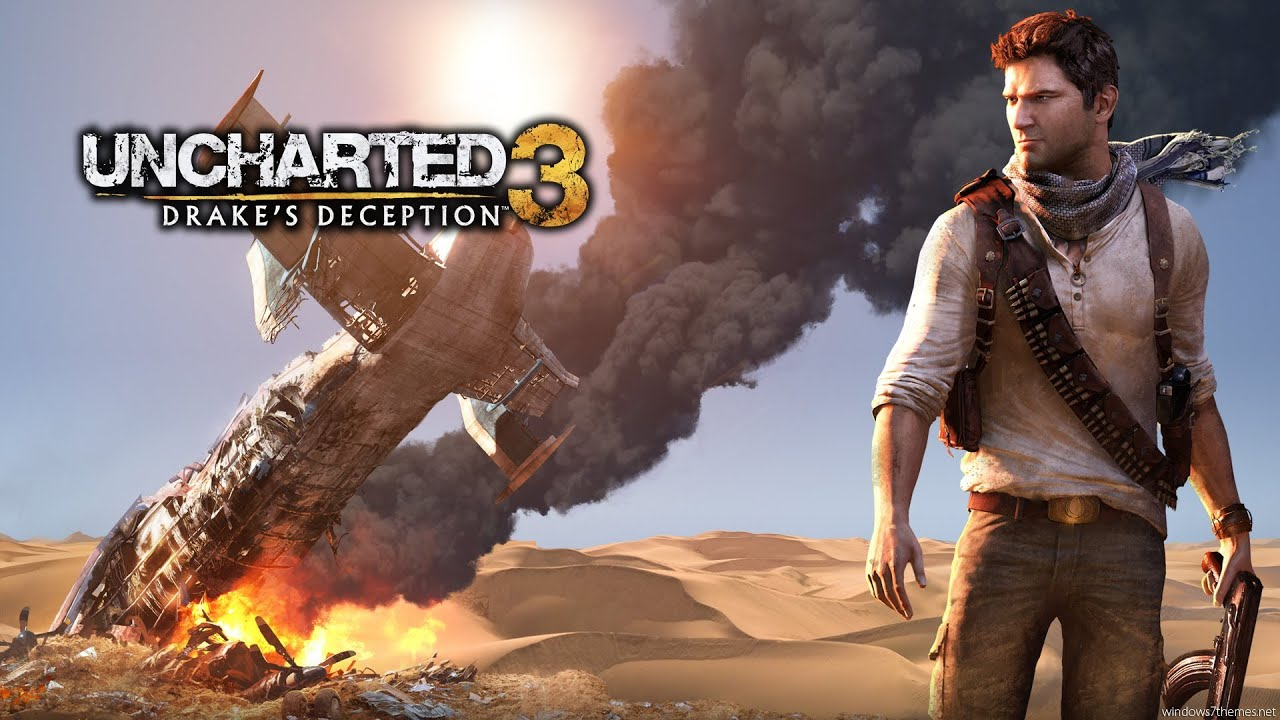 Uncharted 3 Drake S Deception Game Movie All Cutscenes 1080p